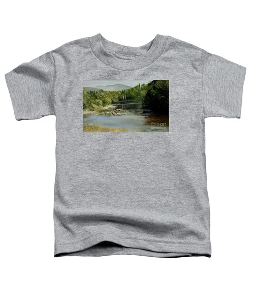 Summer On The River In Vermont Toddler T-Shirt