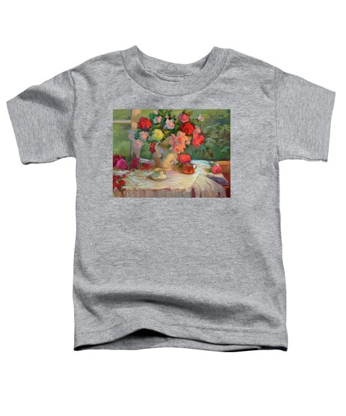 Summer Roses Toddler T-Shirt