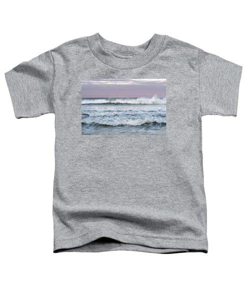 Summer Waves Seaside New Jersey Toddler T-Shirt