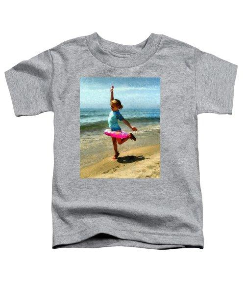 Summertime Girl Toddler T-Shirt