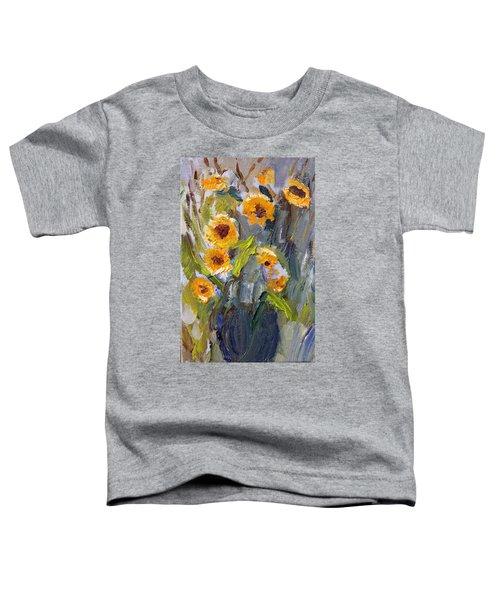 Sunflower Bouquet Toddler T-Shirt