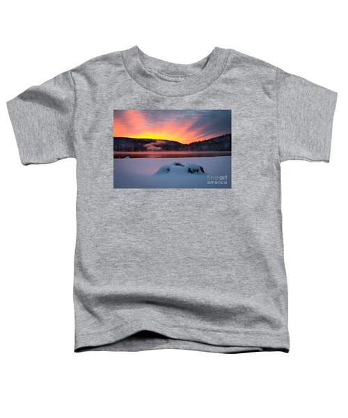 Sunrise At Bass Lake Toddler T-Shirt