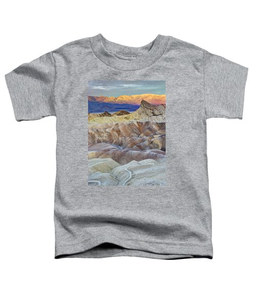 Sunrise In Death Valley Toddler T-Shirt by Juli Scalzi