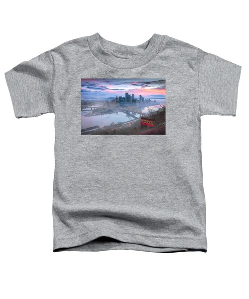 Pittsburgh Fall Day Toddler T-Shirt