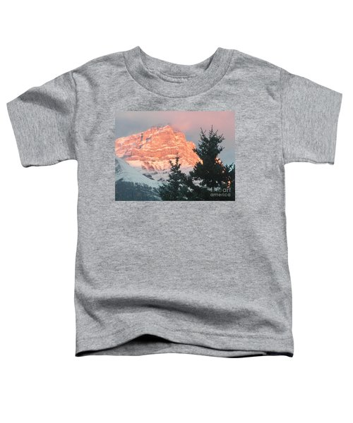 Sunrise On The Mountain Toddler T-Shirt