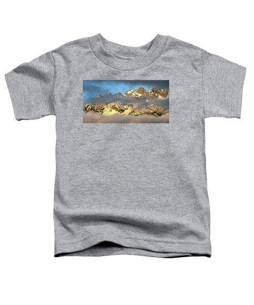 Sunrise On Thompson Peak Toddler T-Shirt