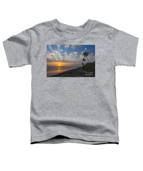 Sunset At Alibag, Alibag, 2007 Toddler T-Shirt