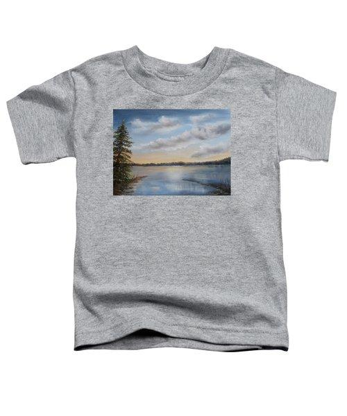 Sunset At Sparta Lake New Jersey Toddler T-Shirt