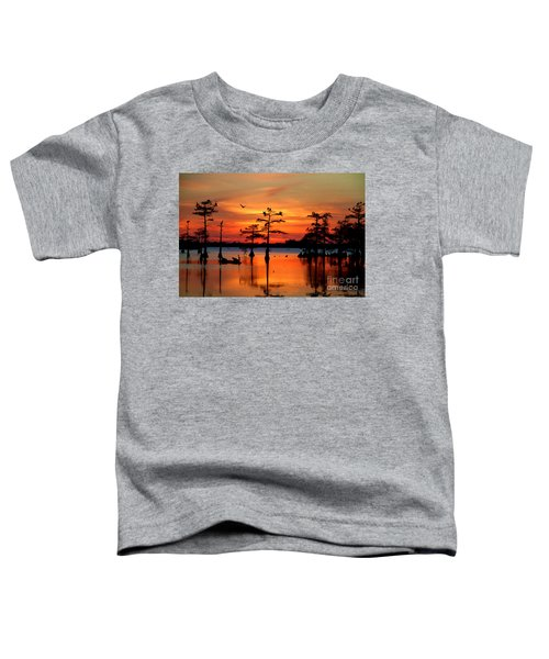 Sunset On The Bayou Toddler T-Shirt
