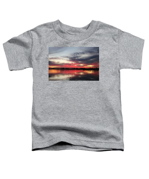 Sunset Over Mission Bay  Toddler T-Shirt