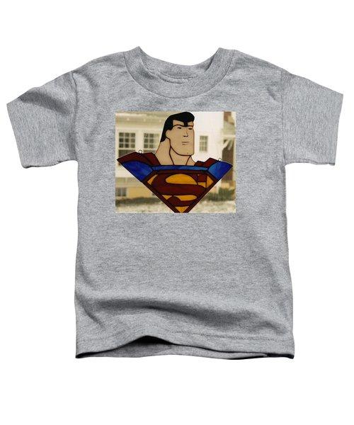 Superman Panel Toddler T-Shirt