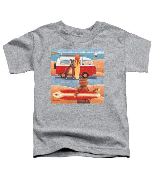 Surfing Showdown Toddler T-Shirt