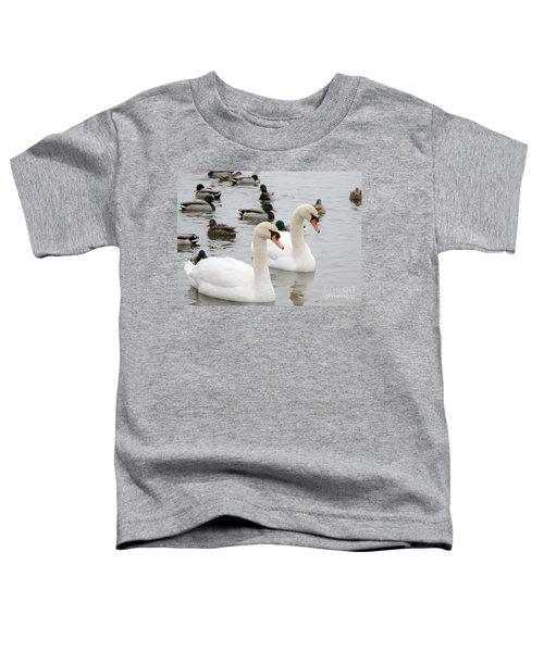 Swan Couple Toddler T-Shirt