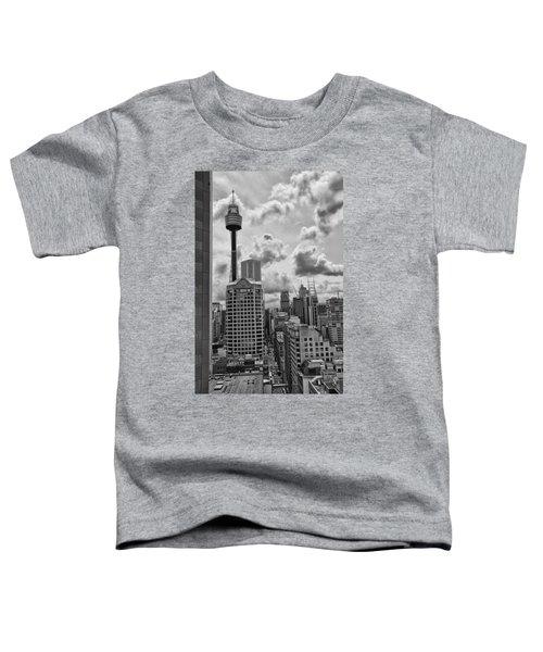 Sydney Skyline Toddler T-Shirt by Douglas Barnard