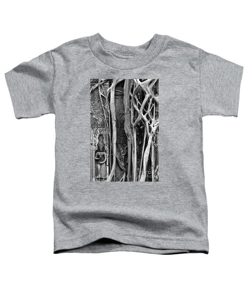 Ta Prohm Roots And Stone 09 Toddler T-Shirt