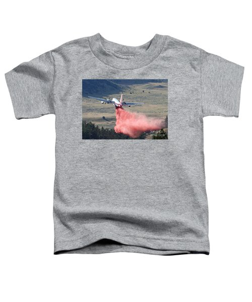 Tanker 45 Dropping On Whoopup Fire Toddler T-Shirt