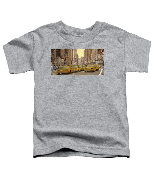 taxi a New York Toddler T-Shirt