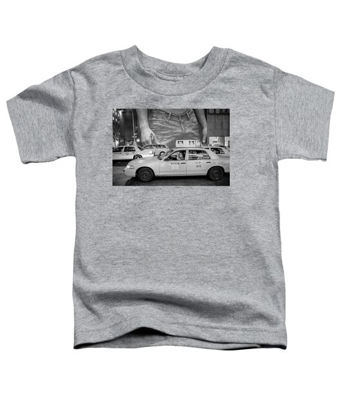 Taxis On Fifth Avenue Toddler T-Shirt