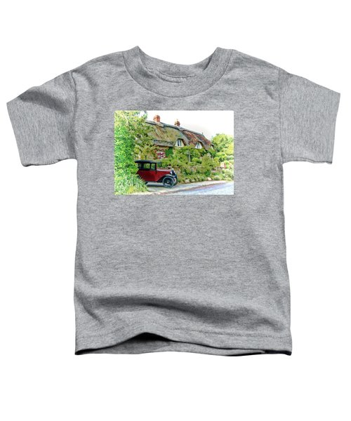 Thatched Cottages At Reybridge Toddler T-Shirt
