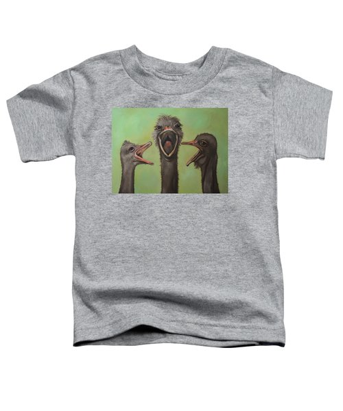 The 3 Tenors Toddler T-Shirt by Leah Saulnier The Painting Maniac