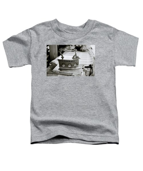 The Antique Iron Toddler T-Shirt