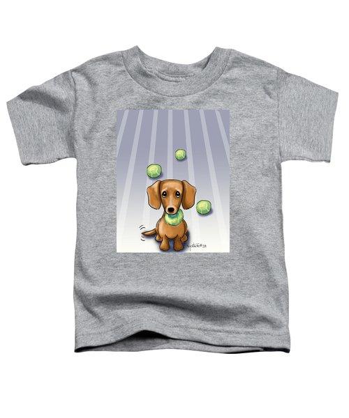 The Ball Catcher Toddler T-Shirt