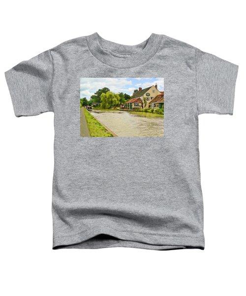 The Barge Inn Seend Toddler T-Shirt
