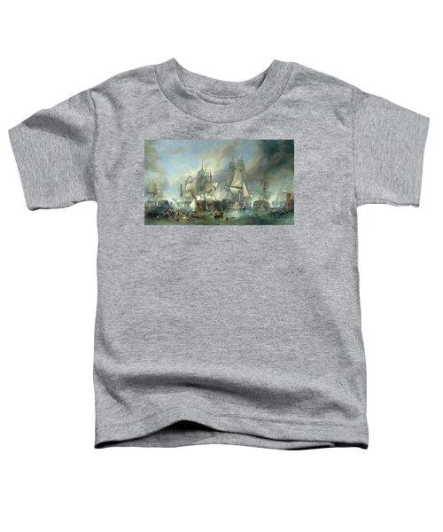 The Battle Of Trafalgar, 1805 Toddler T-Shirt