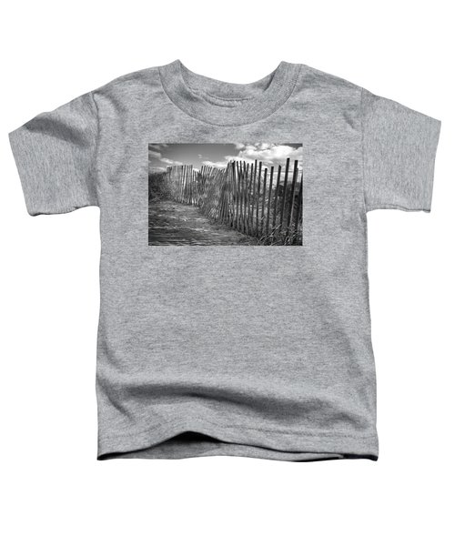 The Beach Fence Toddler T-Shirt