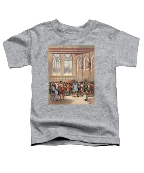 The Bourgogne Herald, Sent By Charles Toddler T-Shirt