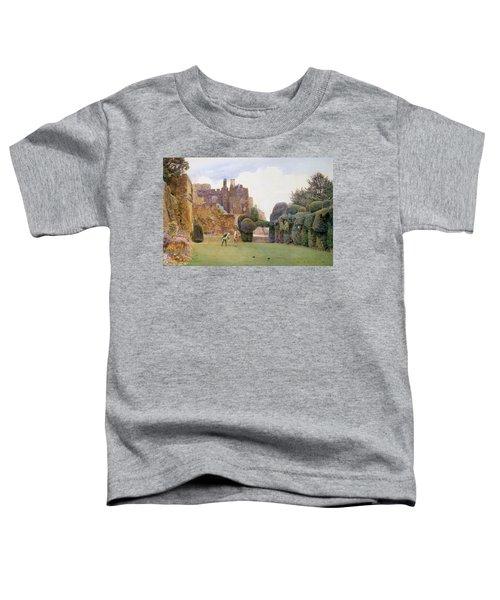 The Bowling Green, Berkeley Castle Toddler T-Shirt