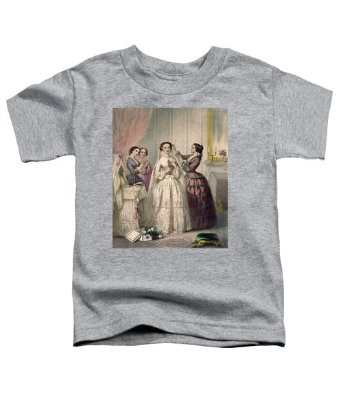 The Bride, Engraved By J. Battannier, 1852-53 Colour Litho Toddler T-Shirt