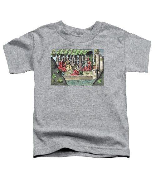 The Castle Of Alamond And Its Enchantments Toddler T-Shirt