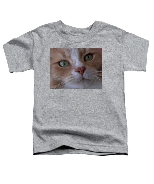 The Cat Eyes Toddler T-Shirt
