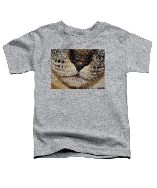 The - Cat - Nose Toddler T-Shirt