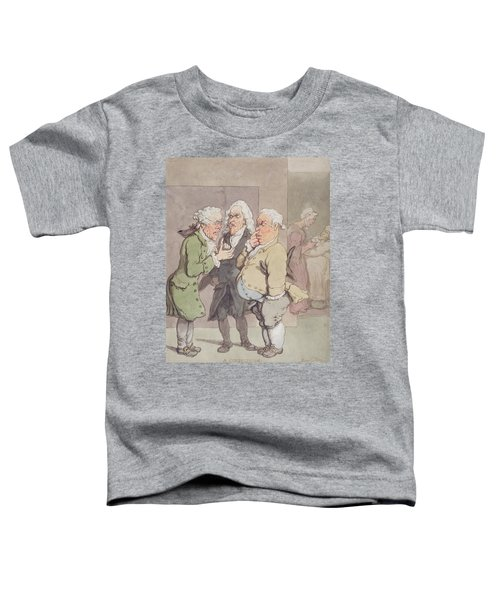The Doctors Consultation, 1815-1820 Pen And Ink And Wc Over Graphite On Paper Toddler T-Shirt