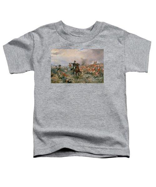 The Duke Of Wellington At Waterloo Toddler T-Shirt
