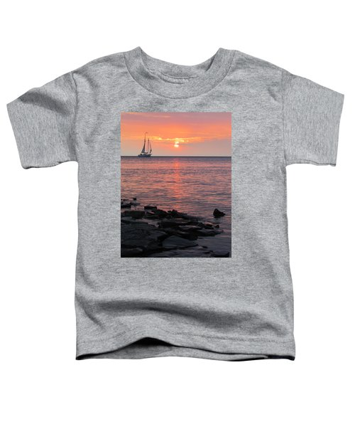 The Edith Becker Sunset Cruise Toddler T-Shirt