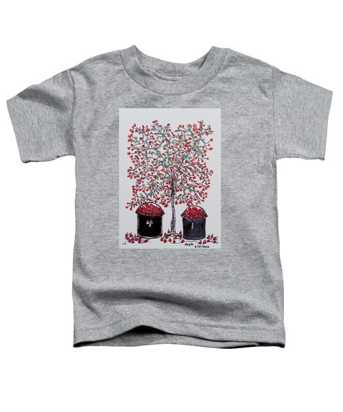 The Famous Door County Cherry Tree Toddler T-Shirt