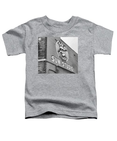 The Famous Sun Studio In Memphis Tennessee Toddler T-Shirt