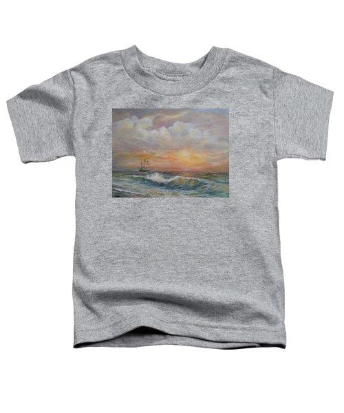 Sunlit  Frigate Toddler T-Shirt
