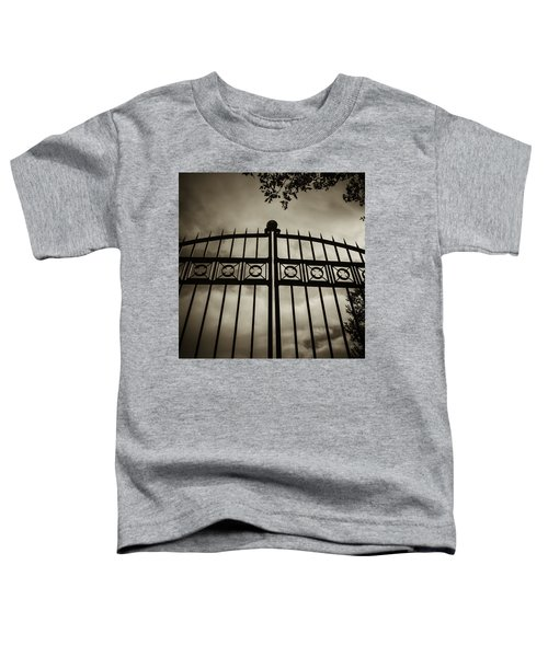The Gate In Sepia Toddler T-Shirt