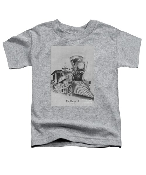 The General - Train - Big Shanty Kennesaw Ga Toddler T-Shirt