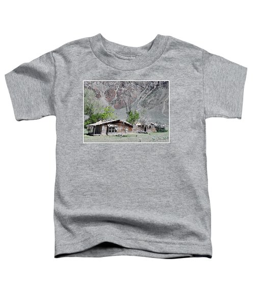 Toddler T-Shirt featuring the photograph The Grass Is Greener When It's Growing On The Roof by Susan Kinney
