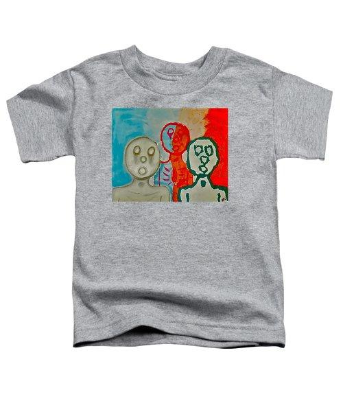 The Hollow Men 88 - Study Of Three Toddler T-Shirt