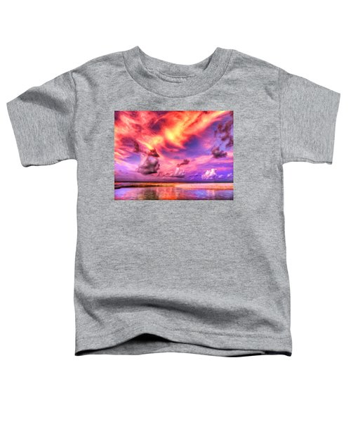 The Lagoon At Sunset Toddler T-Shirt