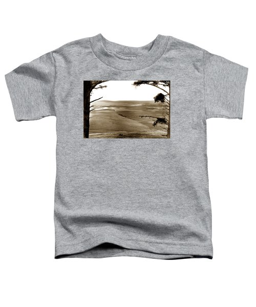 The Lagoon At The Mouth Of The Carmel River  From Fish Ranch California 1905 Toddler T-Shirt