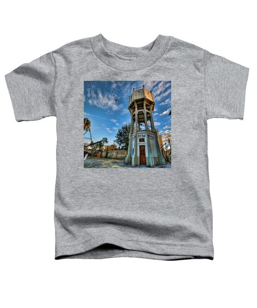The Old Water Tower Of Tel Aviv Toddler T-Shirt