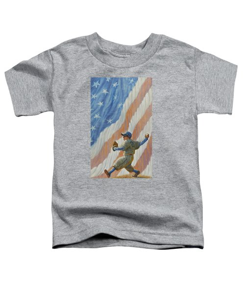 The Pitcher Toddler T-Shirt