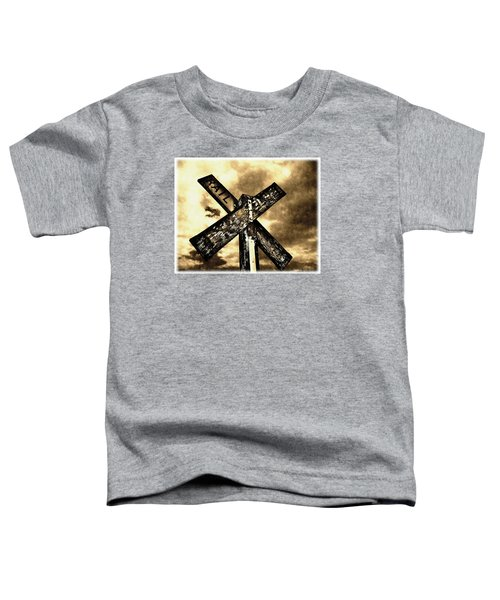 The Railroad Crossing Toddler T-Shirt
